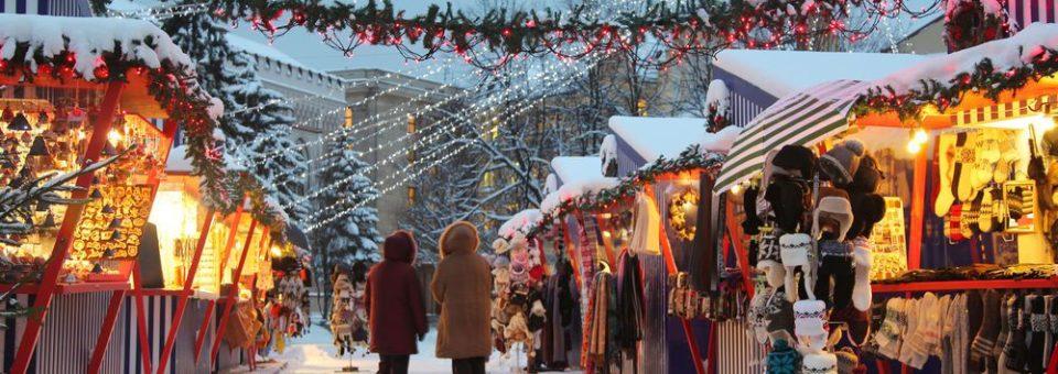 Jõuluostud Riia jõuluturult